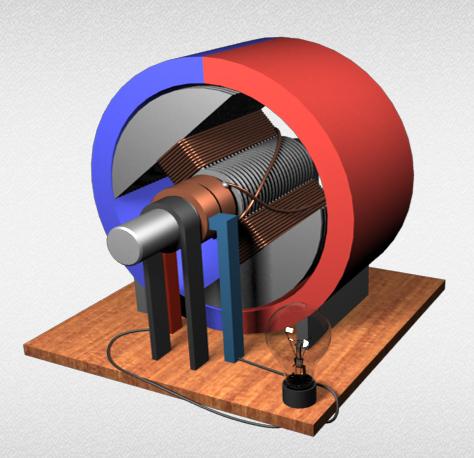 Электродвигатель модель своими руками